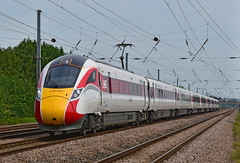 800103 (simmonsphotography) Tags: train railway railroad bedfordshire biggleswade langford eastcoast eastcoastmainline ecml highspeed lner intercity hitachi class800 azuma emu bimode electrodiesel multipleunit electric iep iet intercityexpressprogramme