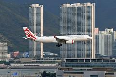 Virgin Australia Airbus A330-243 VH-XFG (EK056) Tags: virgin australia airbus a330243 vhxfg hong kong chek lap kok airport
