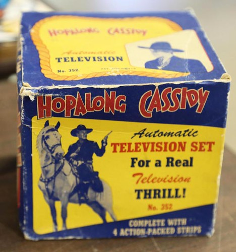 Hopalong Cassidy Auto TV with Box ($156.80)
