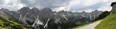 Stubaier Alpen-DSC_2719pan-p (Milan Tvrdý) Tags: stubaialps kreuzjochhütte fulmpes tyrol tirol schlick2000 austria osterreich stubaieralpen