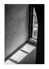 Window (K.Pihl) Tags: bw film window monochrome analog blackwhite schwarzweiss lightandshadow zuiko50mmf14 olympusom4 perceptolstock pellicolaanalogica lodbjergfyr 400tx