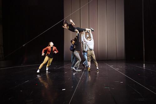 Tableau de groupe danse