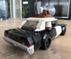 lego Bluesmobile moc (IRL) (KaijuWorld) Tags: lego moc custom dodge monaco police blues brothers car