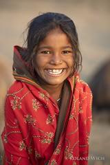 Nuri (Rolandito.) Tags: asia asie asien indie inde indeien pushkar camel fair girl portrait