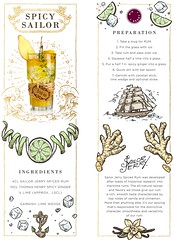 BB Spicy Sailor (Luxury of Freedom) Tags: spicysailor bigberry cocktail bbvan drink bigberrycocktails illustrations