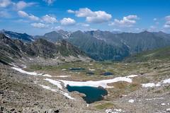 some lakes in the valley of the Thirteen Lakes,Prali, Piedmont. Italy. (mario forcherio) Tags: alps blue glacial hiking ice italy lakes mountain panorama paradise piedmont prali snow thirteen trekking valley
