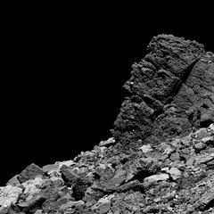 Dark Boulder on Bennu (TerraForm Mars) Tags: asteroid bennu nasa esa osirisrex