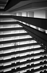 Layer Cake #2 (Dan Portch) Tags: san francisco interior architecture layers mono monochrome fine art black white contrast contemporary building grand hyatt regency street photography hotel lobby