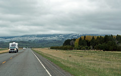 on the road in Montana (SomePhotosTakenByMe) Tags: auto car ontheroad usa america amerika unitedstates montana outdoor