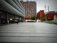 Part of the new public space at Preston Bus Station (Tony Worrall) Tags: prestonbusstation bus architecture building new modern flat concrete lines shapes geometric design open concourse ribs publicspace preston lancs lancashire city welovethenorth nw northwest north update place location uk england visit area attraction stream tour country item greatbritain britain english british gb capture buy stock sell sale outside outdoors caught photo shoot shot picture captured ilobsterit instragram photosofpreston