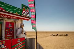 Hold This For Me (subterraneancarsickblues) Tags: lancashire stannes fylde seaside beach coast kiosk icecream hut shop canon 6d eos6d 1635mm f4l lseries