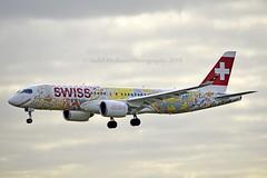"Swiss International Air Lines HB-JCA Bombardier CSeries CS300 (BD-500-1A11) cn/55010 painted in ""Fête des Vignerons 2019 - Fichtre"" special colours 01-2019 @ LPPT / LIS 08-02-2019 (Nabil Molinari Photography) Tags: swiss international air lines hbjca bombardier cseries cs300 bd5001a11 cn55010 painted fêtedesvignerons2019fichtre special colours 012019 lppt lis 08022019"