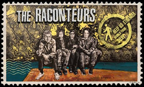 The Raconteurs fan photo