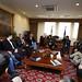 Presidente de la Cámara y parlamentarios se reúnen con sus pares médicos veterinarios