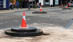 This is getting silly now (Tony Worrall) Tags: street traffic cone bollard lcc road city uk england broken layout smash nw place northwest crash north visit location lancashire covered area preston bang update lancs placed fishergate illthoughtout welovethenorth greatbritain english outside outdoors photo stream shoot tour open shot britain sale country stock captured picture gb buy british capture sell caught item attraction countycouncil instragram ilobsterit photosofpreston