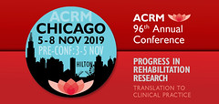 ACRM Annual Conference Progress in Rehabilitation Research (ACRM-Rehabilitation) Tags: acrmprogressinrehabilitationresearchconference acrmconference acrm acrm|americancongressofrehabilitationmedicine annualconference medicalconference medicaleducation medicalassociation cmeceu continuingeducationcredits interdisciplinary interprofessional chicago hiltonchicago acrm2019 progressinrehabilitationresearch