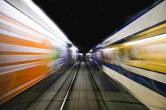 Speed (CoolMcFlash) Tags: longexposure speed train motion blur vienna fujifilm xt2 light urban tracks langzeitbelichtung geschwindigkeit zug bewegung bewegungsunschärfe wien licht schienen fotografie photography xf1024mmf4 r ois