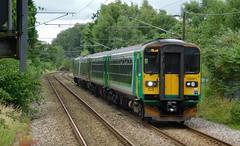 4 coaches from Hereford (The Walsall Spotter) Tags: westmidlandsrailway westmidlands sellyoak railway class153 sprinter dmu class170 turbostar 170505 153371 153366 multipleunit britishrailways networkrail