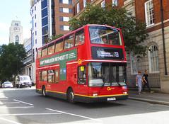 GAL PVL394 - LX54HBA - EBURY BRIDGE ROAD VICTORIA - FRI 5TH JULY 2019 (Bexleybus) Tags: goahead go ahead london ebury bridge road victoria pvl394 lx54hba wimbledon tennis bus commercial route 739 plaxton president volvo b7tl