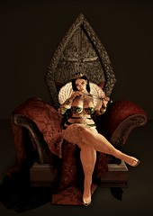 Castle (Suhnne Blossom) Tags: aii castle queen loki throne dagger