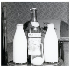 VINTAGE ALCOHOL . FOR THE MORNING AFTER . (JOHN MORGANs OLD PHOTOS.) Tags: vintage found photo happy hotel photos photographer people public pub uk unusual unitedkingdom unknown unique interesting old johnmorgan house location no name new national bw black and white vintagephoto where england the for morning after