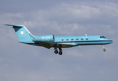OY-APM Arlanda 2019 (martindjupenstrom) Tags: airplane aircraft light spotting arlandaairport airport landing evening summer jet plane aviation arlanda oyapm maersk bluejet gulfstream