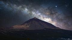 Teide by night (LueSte) Tags: vulcano teide milchstrasse milkyway nikon night tenerife spain sky deepsky mountain z7 photolueger