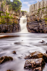 High Force HDR. (davidwhalley) Tags: tees river highforce waterfall lowforce pennineway northyorkshire hdrlandscape hdr