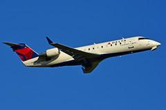 N801AY (Delta Conn. - Endeavor Air) (Steelhead 2010) Tags: deltaairlines deltaconnection bombardier crj yyz nreg n801ay crj200 endeavorair