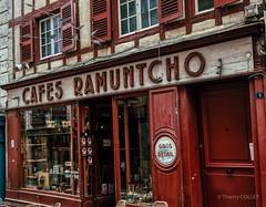 Cafés Rhamuntcho Bayonne (tjmic_92) Tags: france bayonne paysbasque