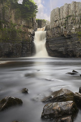 High Force Waterfall (davidwhalley) Tags: highforcelowforce river tees northyorkshire landscape longexposure water waterfalls