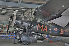 Westland Lysander Mk.IIIa (V9367) (Bri_J) Tags: shuttleworthcollection oldwarden bedfordshire uk westland lysander westlandlysander museum airmuseum aviationmuseum nikon d7500 v9367 wwii raf hdr aircraft