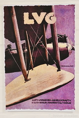 LVG Aircraft Poster (Bri_J) Tags: uk museum poster nikon aircraft bedfordshire airmuseum aviationmuseum shuttleworthcollection oldwarden lvg d7500 wwi