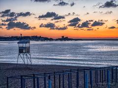 Sunset at St Jean de Luz beach (tjmic_92) Tags: france fêtesdelasaintjean paysbasque saintjeandeluz saintjeanfestival