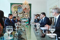 Visita Embaixador de Bangladesh
