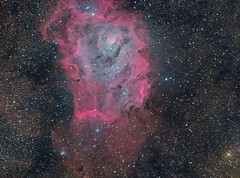Lagoon Nebula (maicongerminiani) Tags: nebula nebulae ngc dso zwoasi asi1600 astrophotography explorer ccd sky skywatcher