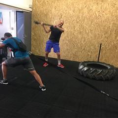 Crossfit action #training #crossfit #wod #sleddrag #tirehits #fitness #crossfitbox #crossfitcapmartin #capmartin #roquebrune #monaco (crossfitcapm) Tags: instagram crossfit crossfitcapmartin menton monaco roquebrunecapmartin