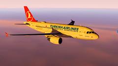 X-Plane 11 | Airbus A319 Turkish Airlines (erdenayguler) Tags: flight simulator xplane airbus a319 turkishairlines
