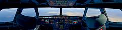 X-Plane 11 | Airbus A319 Turkish Airlines (erdenayguler) Tags: flight simulator xplane airbus a319 turkishairlines cockpit panoramic