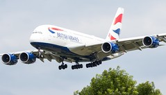 British Airways Airbus A380 (ianclarke82) Tags: britishairways airbus a380 airbusa380 aviationphotography aviation airliners aircraft airport canon canonphotography canon80d canonaviation speedbird myrtleavenue lhr londonheathrow heathrowairport