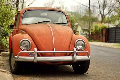 Aging With Class (RADfotoX) Tags: dogwood dogwood2019 dogwood2019week19 dogwoodweek19 dogwood52 dogwood52week19 aging class vw bug beetle orange classic car auto kaefer vocho fusquinha