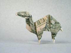 Camel - Manuel Arroyo (Rui.Roda) Tags: money origami camel manuel papiroflexia folding arroyo camelo papierfalten