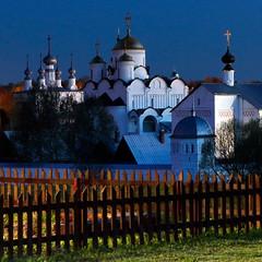 Convent of the Intercession - Suzdal - Russia (johnnyfox712) Tags: convent intercession suzdal russia goldenring landscape landmark conventoftheintercession bluehour beautifullight cross gold silver dusk