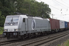 186 266-3 AKIEM (Disktoaster) Tags: eisenbahn zug railway train db deutschebahn locomotive güterzug bahn pentaxk1