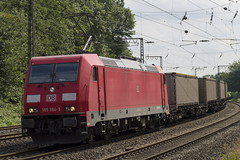 185 384-5 (Disktoaster) Tags: eisenbahn zug railway train db deutschebahn locomotive güterzug bahn pentaxk1
