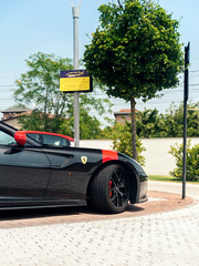 599 GTO (Mattia Manzini Photography) Tags: auto red italy black cars car museum nikon automobile italia stripes automotive ferrari d750 gto carbon modena supercar supercars automobili v12 carspotting 599 museoferrari 599gto
