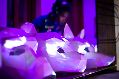DSC_2683 (johnmoralesh) Tags: nikon night party music musica dj digital closeup amazing purple mask sound restaurant animal