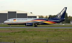 West Atlantic UK G-NPTA, OSL ENGM Gardermoen (Inger Bjørndal Foss) Tags: gnpta westatlantic boeing 737 cargo osl engm gardermoen