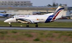 SwiftAir EC-HAK, OSL ENGM Gardermoen (Inger Bjørndal Foss) Tags: echak swiftair embraer emb120 brasilia osl engm gardermoen cargo