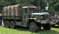 M35A1 army truck (Schwanzus_Longus) Tags: bockhorm german germany old classic vintage vehicle truck lorry military army flatbed platforn cargo reo am general m35a1 m35 a1